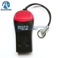 5PCS USB 2.0 Mini Micro SD T-Flash TF M2 Memory Card Reader New High Speed
