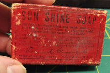 Vintage Sun Shine Soap for cleaning Nickel and other metals small box still full