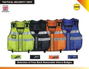 New Model Hi Viz Tactical Vest , Security Vest , Tac Vest