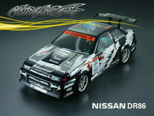 1/10 RC Car NISSAN DR86  Transparent Body Shell 201202