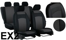 SKODA YETI 2009-2014 ARTIFICIAL LEATHER & FABRIC TAILORED SEAT COVERS