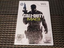Call Of Duty MW3 (Nintendo Wii Game) Brand NEW Sealed SHIPS TODAY