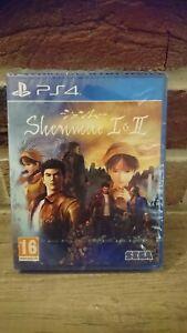 Jeu vidéo PS4 Playstation 4 Shenmue 1 et 2 I  II SEGA NEUF sous blister