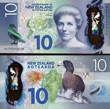 NUOVA ZELANDA - New Zealand 10 dollars 2015 Polymer FDS UNC