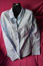 "ladies new with tag, blouse colour blue, long sleeve by ""now"""