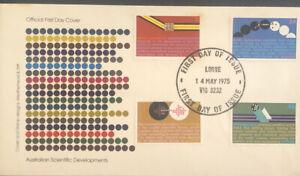 Australia FDC 1975 Australian Scientific Developments