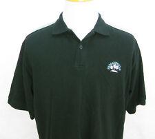 Mens Jimmy Buffett MARGARITAVILLE Black Short Sleeve Polo Shirt (Size Large)