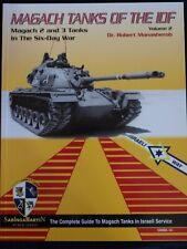 Magach Tanks of the IDF Vol.2 - Magach 2&3- BY ROBERT MANASHEROB, SABINGA MARTIN