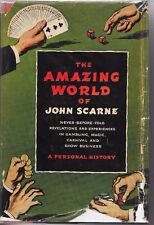 JOHN SCARNE THE AMAZING WORLD OF JOHN SCARNE HB 1ST SECOND PRINGTING CROWN BOOK