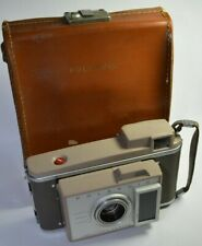 Polariod Land Camera J33 With ORIGINAL LEATHER CASE SEE PICTURES CLASSIC CAMERA