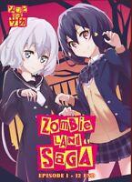 DVD Japan Anime Zombie Land Saga Complete TV Series (1-12 End) English Subtitle