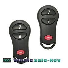 2 Replacement for Dodge 1999-2002 Ram 1500 2500 3500 Remote Car Key Fob Van