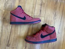 Nike Dunk High Gym Red Black Men's Size 14 (904233-600)