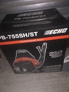 ECHO BACKPACK LEAF BLOWER PB-755SH/ST NEW IN SEALED BOX