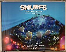 Cinema Poster: SMURFS THE LOST VILLAGE 2017 (Advance Quad) Michelle Rodriguez