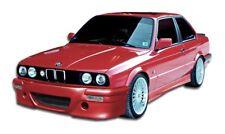 for 84-91 BMW 3 Series E30 CSL Front rear bumper side skirts full body kit