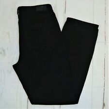 NWOT Hot in Hollywood Black Distressed Boyfriend Jeans Size 10