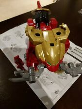 Power Rangers Super Megaforce Wild Force Red Lion Zord with Key