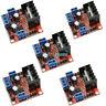 5PCS L298N DC Dual H Bridge Stepper Motor L298N Drive Controller Board Module