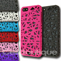 New Hard Back Grip Case Cover Back for Apple iPhone 4s 5s with FREE  Protector