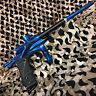 NEW Dangerous Power Fusion Elite Electronic Paintball Gun Marker - Blue/Black