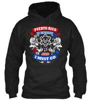Puerto Rico - Is Calling And I Must Go Gildan Hoodie Sweatshirt