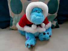 CHRISTMAS SULLEY character plush soft toy DISNEY STORE Santa Suit MONSTERS INC