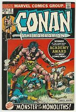 CONAN THE BARBARIAN (1970) #21 8.0 VF COW