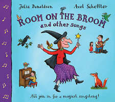 Good, Room on the Broom and Other Songs Book and CD (Book & CD), Donaldson, Juli