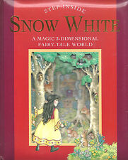 Snow White A Magic 3-Dimensional FAIRY TALE World pop-up book ~ works perfect!
