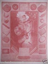PUBLICITÉ 1928 BISCUITS LU PETIT BEURRE LEFÈVRE UTILE NANTES SILLON D'OR PIERROT