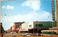 1950s Chrome Postcard: Washington Street - Phoenix, Arizona AZ