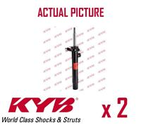 2 x FRONT AXLE SHOCK ABSORBERS PAIR STRUTS SHOCKERS KYB OE QUALITY 334614