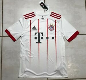 NWT ADIDAS Bayern Munich 2017/2018 THIRD Jersey Youth XL AZ7716 MSRP $70