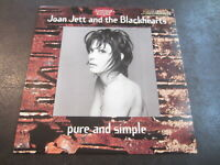 JOAN JETT Blackhearts Pure & Simple Vinyl LP Record Album 1994 PROMO
