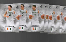 (12) COUNT LOT SHANE LARKWIN  2013-14 SP AUTHENTIC CARD ROOKIE CARD #28 MIAMI