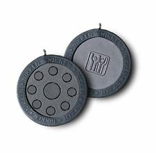 Nikken 1 PowerChip Medallion Charm - 1450, Black, Magnetic Therapy, Power Chip