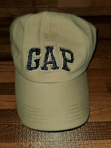 NWT Women's GAP Tan Hat Customized With Blue Swarovski Crystals