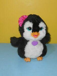 "Hasbro 8"" FurReal Friends Happy to See Me Pets Piper My Dancing Penguin Pet"