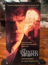 New listing The Talented Mr. Ripley (Vhs, 2000) Matt Damon, Gwyneth Paltrow, Jude Law