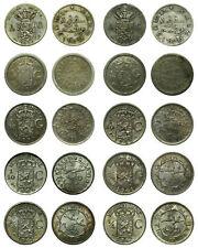 Netherlands Indies - Lot 1/10 Gulden 1855 / 1945 - 10 stuks • zilver