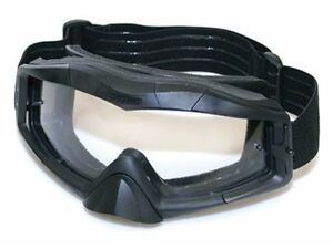 Blackhawk 85AC00BK Ace Tactical Goggles Uva/uvb Protection Black New Authentic
