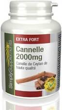 Cannelle 2000mg - Favorise une bonne glycémie - 120 comprimés