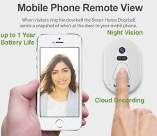 Smart DoorBell WiFi Wireless Hidden Photo Camera Phone Door IR Night Vision P2P