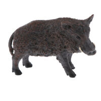 Realistic Animal Model Figurine Action Figures Playset Kids Toy Wild Boar