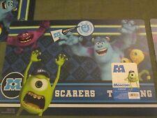 Disney PIXAR Monsters Placemats, Set of 2, NWT