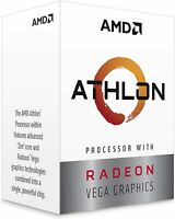 AMD Athlon 3000G 3.5GHz Dual Core AM4 CPU Onboard Vega Graphics - DPD NEXT DAY