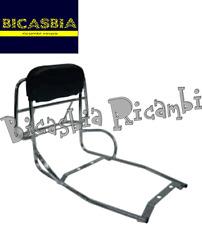 2995 PORTAPACCHI POSTERIORE CROMATO CON MANIGLIE VESPA 125 150 200 PX ARCOBALENO