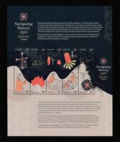 Australia 2020 : Navigating History, Endeavour Voyage 250 Years. Sheetlet. MNH