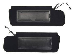 1984-1996 Chevy Corvette C4 Sunvisor Pair (2) New W/Vanity Mirror & LED Light